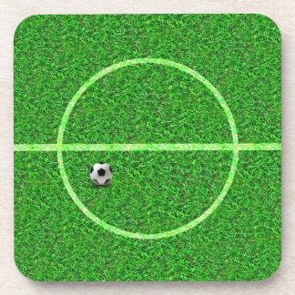 Bola do campo de futebol do futebol - porta copos