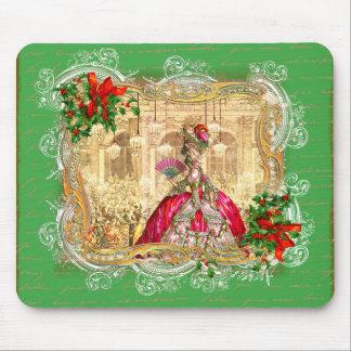 Bola do Natal de Marie Antoinette Mousepad