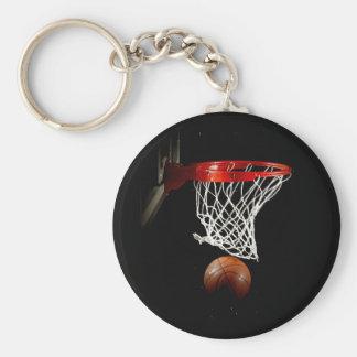 Bola & rede do basquetebol chaveiro