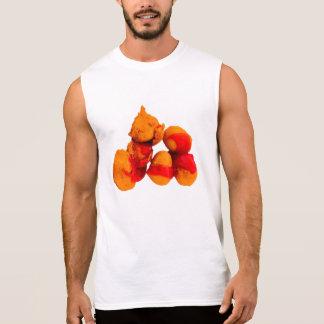 Bolas da galinha camisetas sem manga