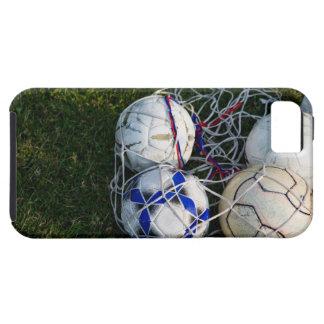 Bolas de futebol na rede capa tough para iPhone 5