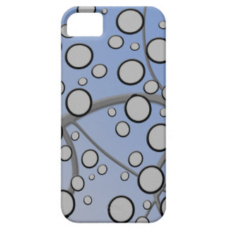 bolhas abstratas capa barely there para iPhone 5