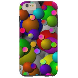 Bolhas Capa Tough Para iPhone 6 Plus