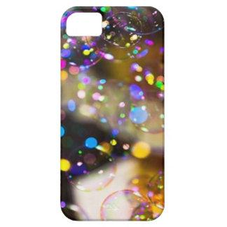 Bolhas coloridas arte capa tough para Iphone5