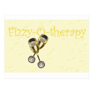 bolhas da Efervescente-o-terapia Cartão Postal