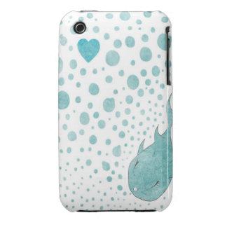Bolhas do amor capa para iPhone 3