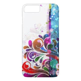 Bolhas e redemoinhos abstratos capa iPhone 8 plus/7 plus