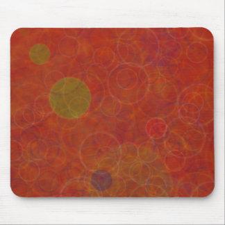Bolhas psicadélicos do espaço abstrato mousepad