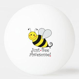 Bolinha De Ping Pong Apenas a abelha impressionante Bumble a abelha