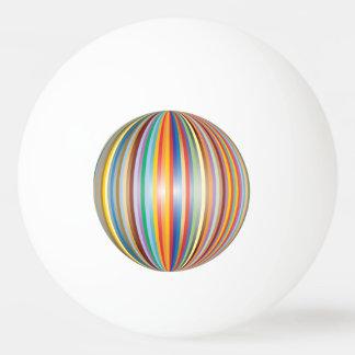 Bolinha De Ping Pong Cores do arco-íris