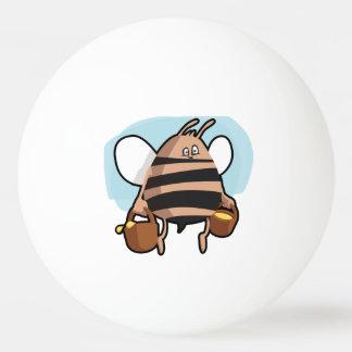 Bolinha De Ping Pong Desenhos animados da abelha