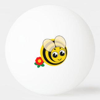 Bolinha De Ping Pong Zangão listrado preto e amarelo dos desenhos