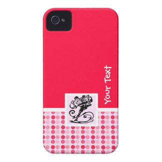 Bolinhas bonitos; Patinador feminino Capinhas iPhone 4