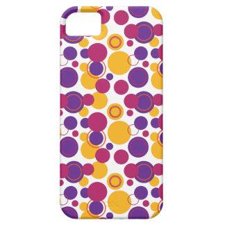 Bolinhas retros abundante - 19 capas de iPhone 5 Case-Mate