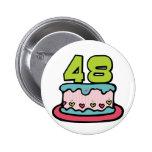 Bolo de aniversário das pessoas de 48 anos pins