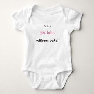 Bolo de aniversário do bebê camiseta