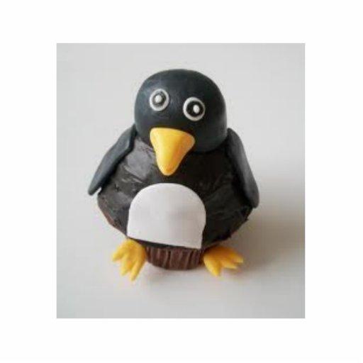 bolo do pinguim esculturafoto