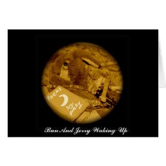 Bolo e Jerry Cartão Comemorativo