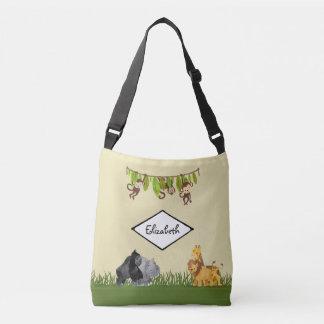 Bolsa Ajustável A aventura animal da ilustração da selva do safari