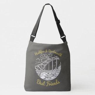 Bolsa Ajustável Cinza do saco dos melhores amigos de Halifax