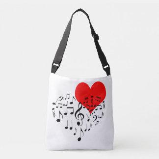 Bolsa Ajustável Coração do canto romântico um--um-amável