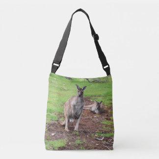Bolsa Ajustável Dois cangurus australianos, saco para o transporte