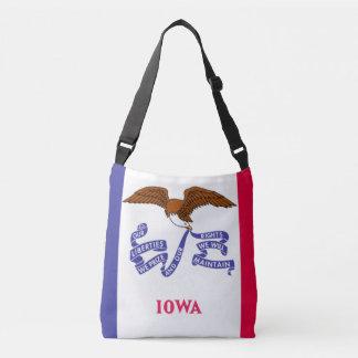 Bolsa Ajustável Estado de sacola da bandeira de Iowa