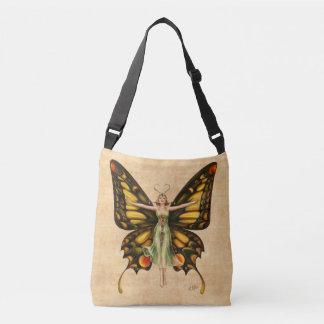 Bolsa Ajustável Flapper da borboleta