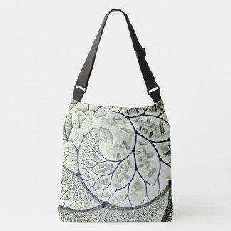 Bolsa Ajustável fractal abstrato do design