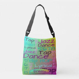 Bolsa Ajustável Palavras da dança dos miúdos personalizadas