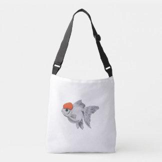 Bolsa Ajustável Peixes brancos e alaranjados do animal de