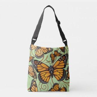 Bolsa Ajustável Redemoinho da borboleta de monarca