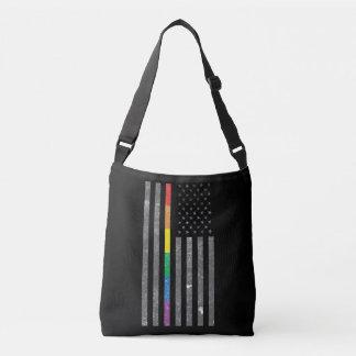 Bolsa Ajustável Saco escuro do estilingue da bandeira americana do