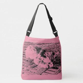 Bolsa Ajustável Sacola bonito do Meow