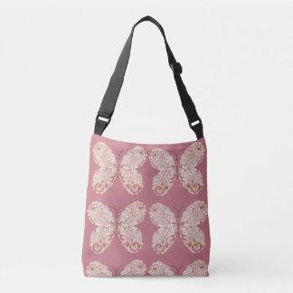 Bolsa Ajustável sacola com borboletas