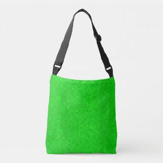 Bolsa Ajustável Teste padrão verde quente dos azulejos de mosaico,