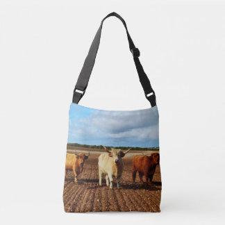 Bolsa Ajustável Três vacas impertinentes das montanhas, saco