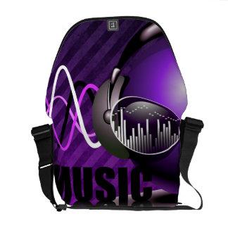 Bolsa Carteiro Música que bombeia em minhas orelhas