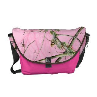 Bolsa cor-de-rosa do bolsa do saco da menina da ca