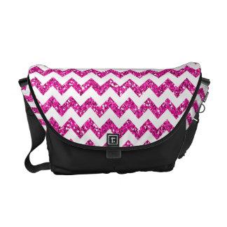 Bolsa cor-de-rosa moderna do bolsa do saco do zigu bolsas mensageiro