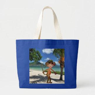 Bolsa da praia do macaco