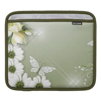 Bolsa De iPad Borboletas e margaridas
