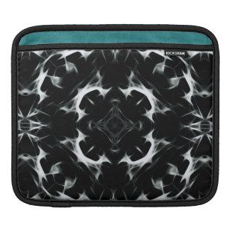 Bolsa De iPad Ilusão abstrata - almofada do iPad de BW