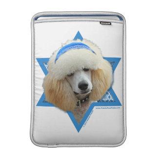 Bolsa De MacBook Estrela de David de Hanukkah - caniche - abricó