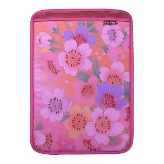 Bolsa De MacBook Luva de ar doce de Macbook da flor