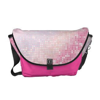 Bolsa Glam do bolsa do saco do Glitz cor-de-rosa f