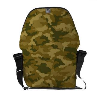 Bolsa Mensageiro Camuflagem militar de Camo do exército verde