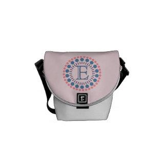 Bolsa Mensageiro Saco Customisable do Mini-Mensageiro do rosa do