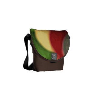 Bolsa mensageiro zero da arte do arco-íris a mini