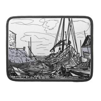 Bolsa Para MacBook barcos na água